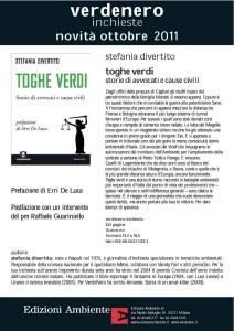 S. Divertito, Toghe verdi, Edizioni Ambiente