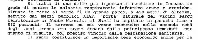 """Ci ha lasciato Gina Pratesi, la grande animatrice  del """"Comitato per la difesa dell'uso pubblico e sanitario dell'ex sanatorio Banti"""""""