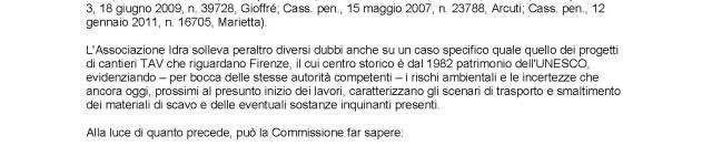 Terre da scavo e TAV: nuovo monito al governo italiano da Bruxelles