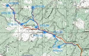 Cartografia del progetto, dettaglio