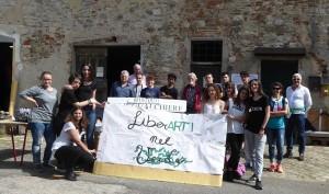 """""""LiberArti nel verde"""": anche le ragazze e i ragazzi dell'IIS Leonardo da Vinci di Firenze hanno adottato le Gualchiere di Remole!"""
