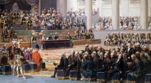 Auguste Couder, Versailles, 5 maggio 1789, apertura degli Stati Generali (da Wikipedia)