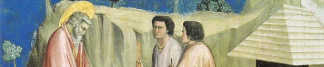Giotto rivisitato (a cura di Fabio Innocenti), Ritiro di Gioacchino tra i pastori, Cappella degli Scrovegni, Padova