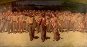 Pellizza da Volpedo, Quarto Stato, 1901