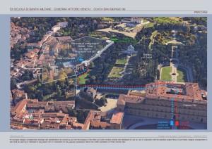 Collegamento Boboli - Forte Belvedere nel progetto consegnato al Comune di Firenze