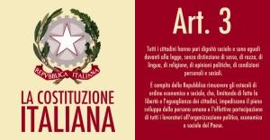 Costituzione, Art. 3