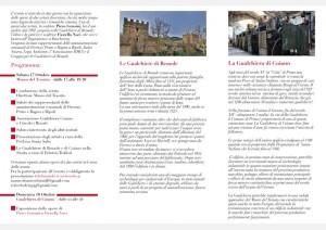 Gemellaggio fra le Gualchiere di Remole e Coiano, Prato, 17-18 ottobre 2020, 2