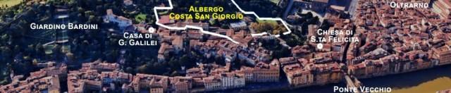Albergo Costa San Giorgio: lo scenario