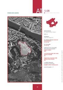 Variante al Regolamento Urbanistico - Scheda norma ex Caserma Vittorio Veneto