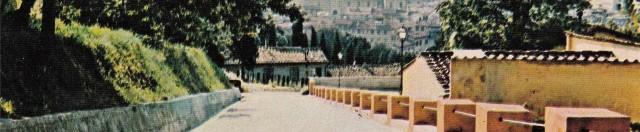 Caserma V. Veneto, Scuola di Sanità militare, Cartolina d'epoca