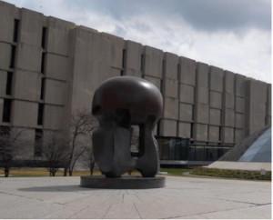 Henry Moore, Nuclear Energy, Ellis Avenue, Università di Chicago