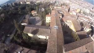 Il complesso di Costa San Giorgio, con l'affaccio sul Giardino mediceo di Boboli